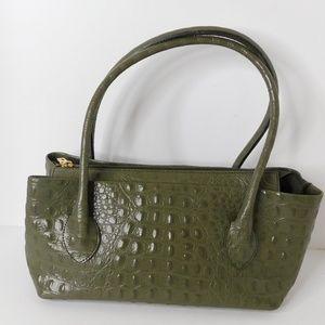 Tosca Blu Croc Leather Bag